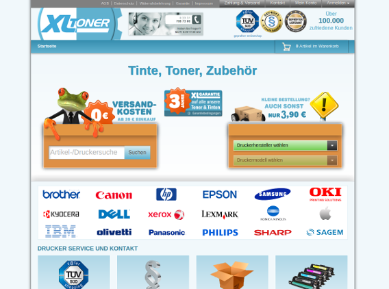 Website XL-Toner